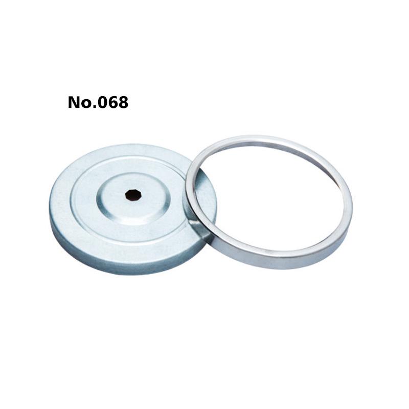 φ100 pressed thermometer gauge (430ring,white zinc case)