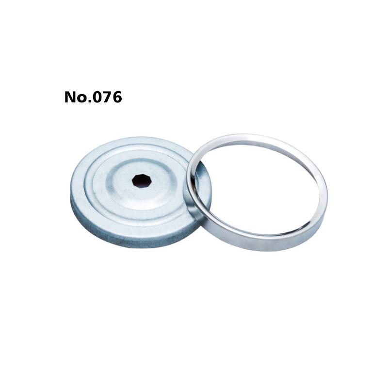 φ62 pressed thermometer gauge (304ring,white zinc case)