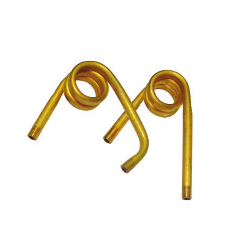 Brass spiral bourdon tube for pressure gauge parts