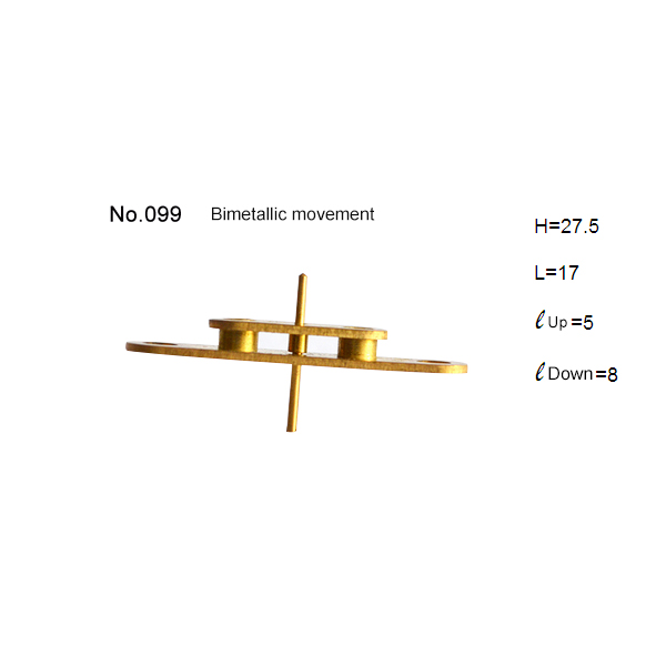 Stainless Steel or brass Movement for Bimetallic Assembling