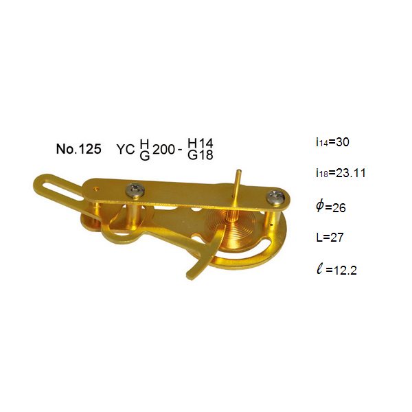 8 Inch brass Assembling Movement of 200mm Pressure Gauge