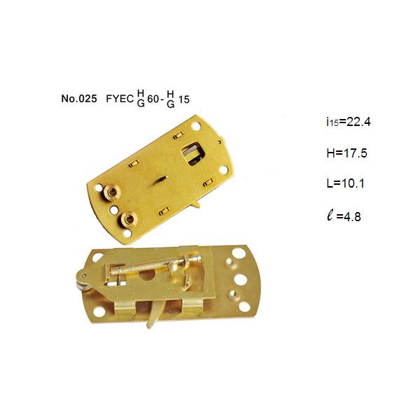 2.5 Inch 60mm capsule Pressure Gauge Movement