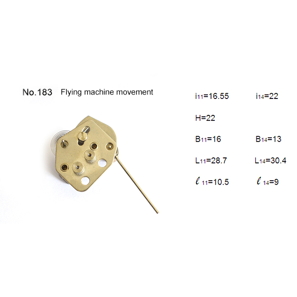 Precision flying machine movement