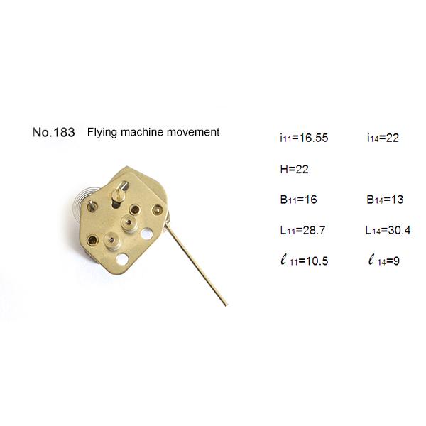 Reversed  assembling movement
