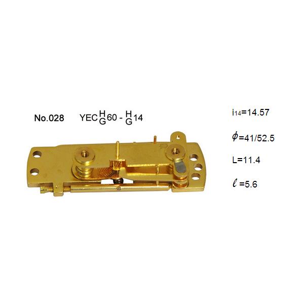 Bellows movements of 2.5 inch Capsule pressure gauge