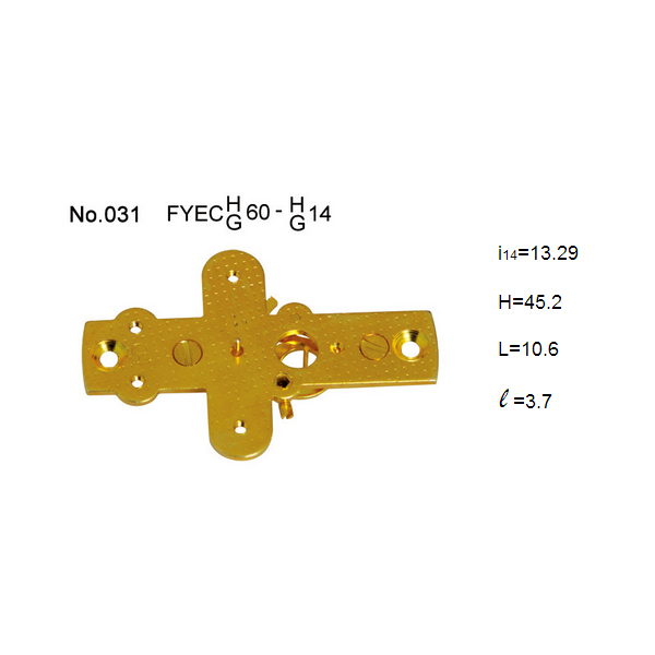 Brass bellows movement for Capsule pressure gauge
